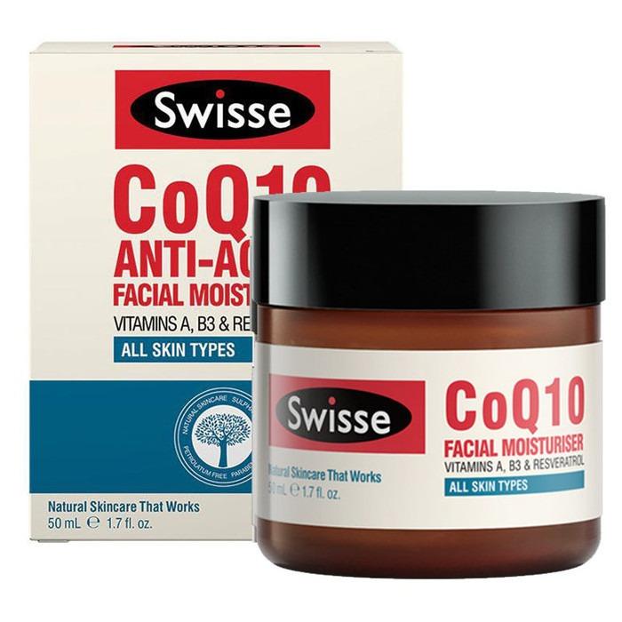 SWISSE CoQ10 Anti-Aging Facial Moisturiser