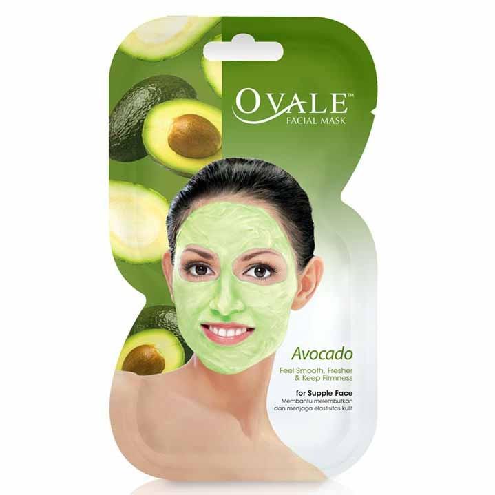 Ovale Facial Mask Avocado