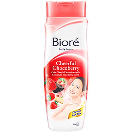 Biore Body Foam Cheerful Chocoberry