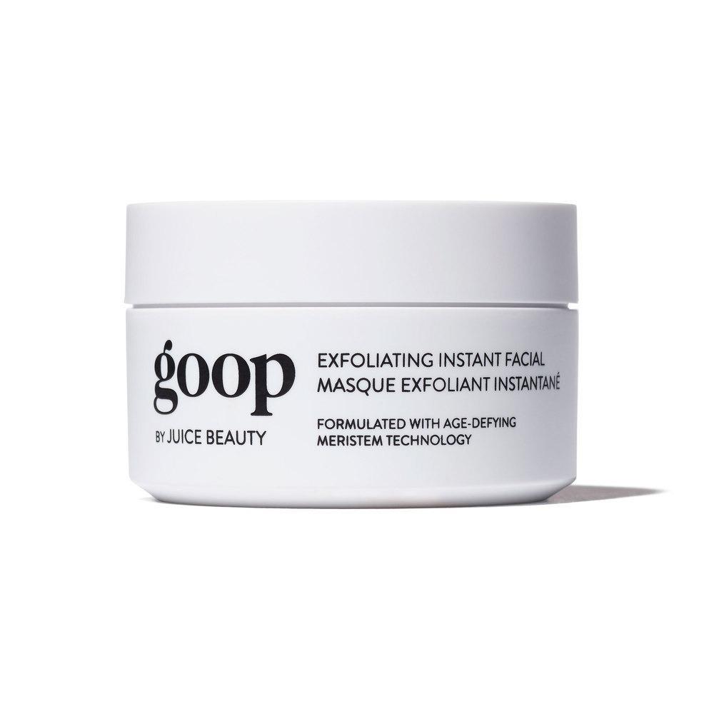 goop Exfoliating Instan Facial