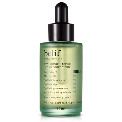 Belif Peat Miracle Revital Serum Concentrate