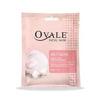 Ovale Facial Mask Powder Mutiara