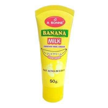 A Bonne Banana Milk Cracked Heel Cream