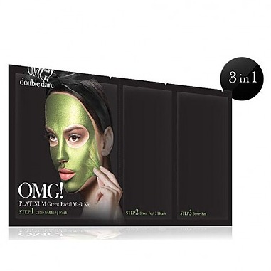 Double Dare (OMG) OMG! Platinum Green Facial Mask Kit