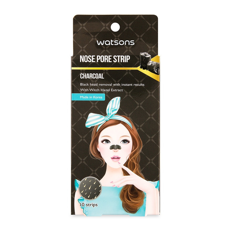 Watson Nose Pore Strip Charcoal