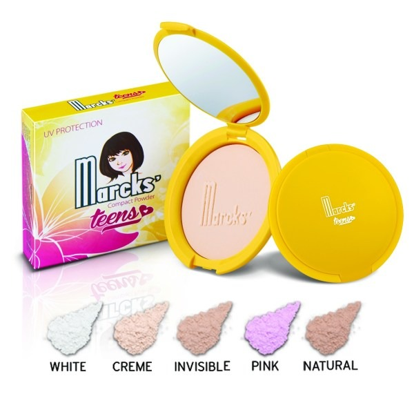 Marcks Teens Compact Powder with UV Protection
