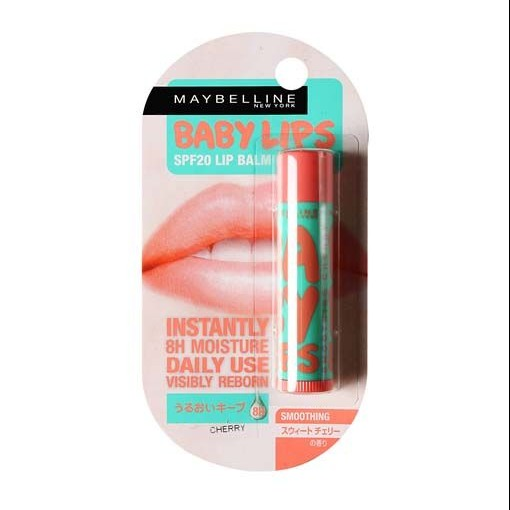 Maybelline Baby Lips SPF 20 Lip Balm Smoothing Cherry