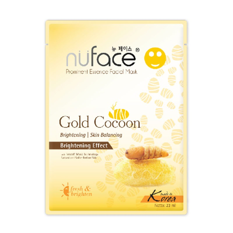 Nuface Prominent Essence Facial Mask Gold Cocoon