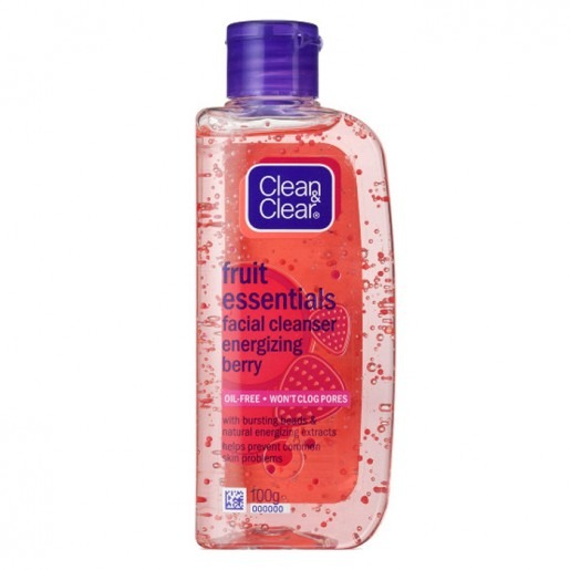 Clean & Clear Fruit Essentials Energizing Berry Wash