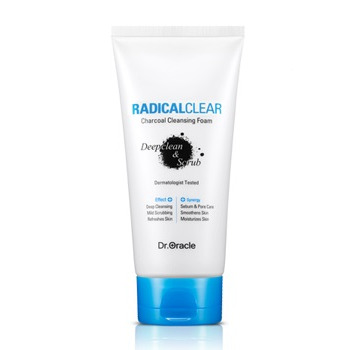 Dr. Oracle RADICALCLEAR Charcoal Cleansing Foam