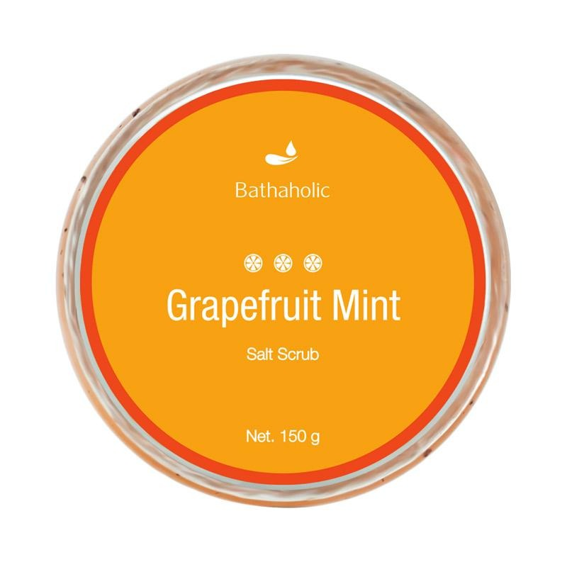 Bathaholic Grapefruit Mint Salt Scrub