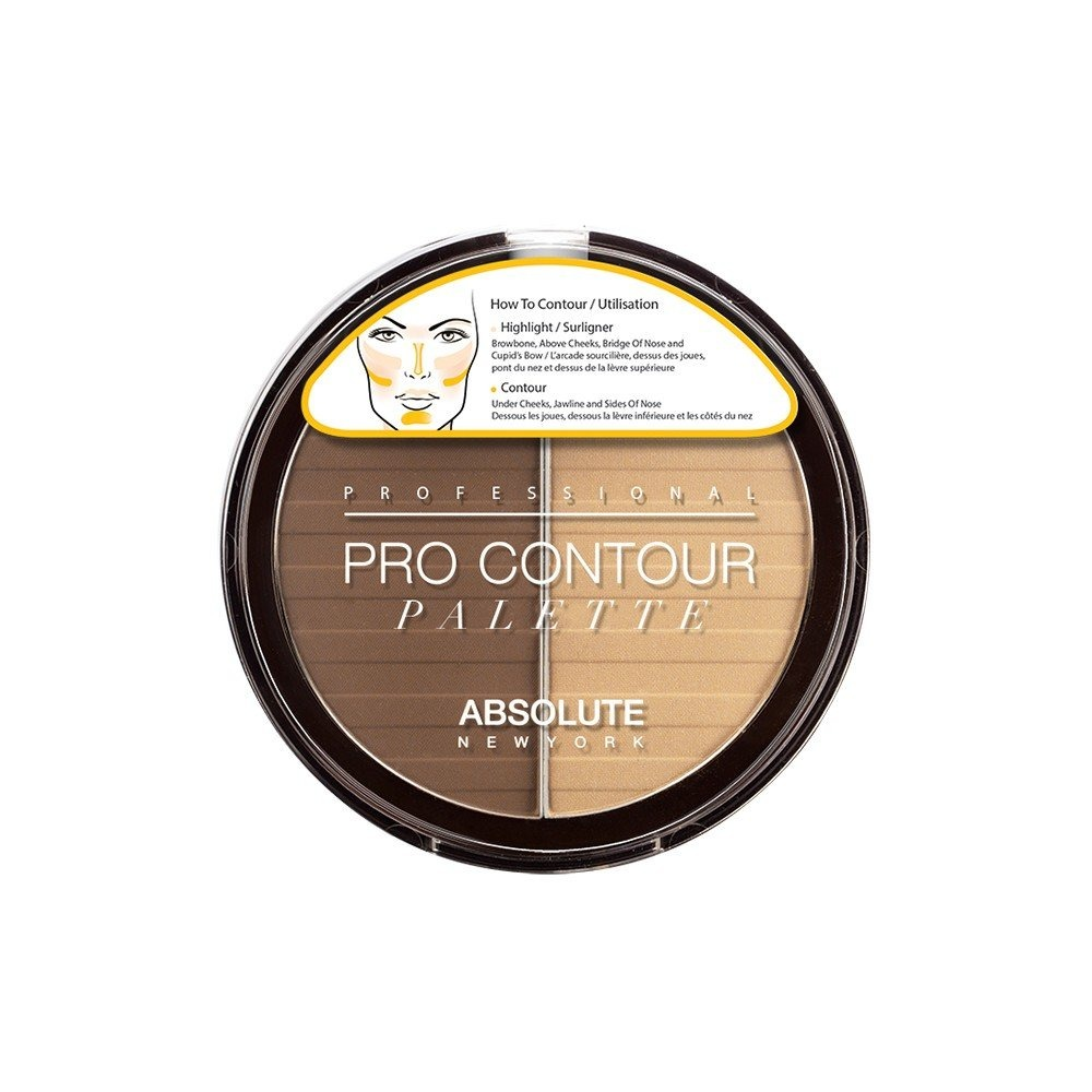 Absolute New York Pro Contour Palette