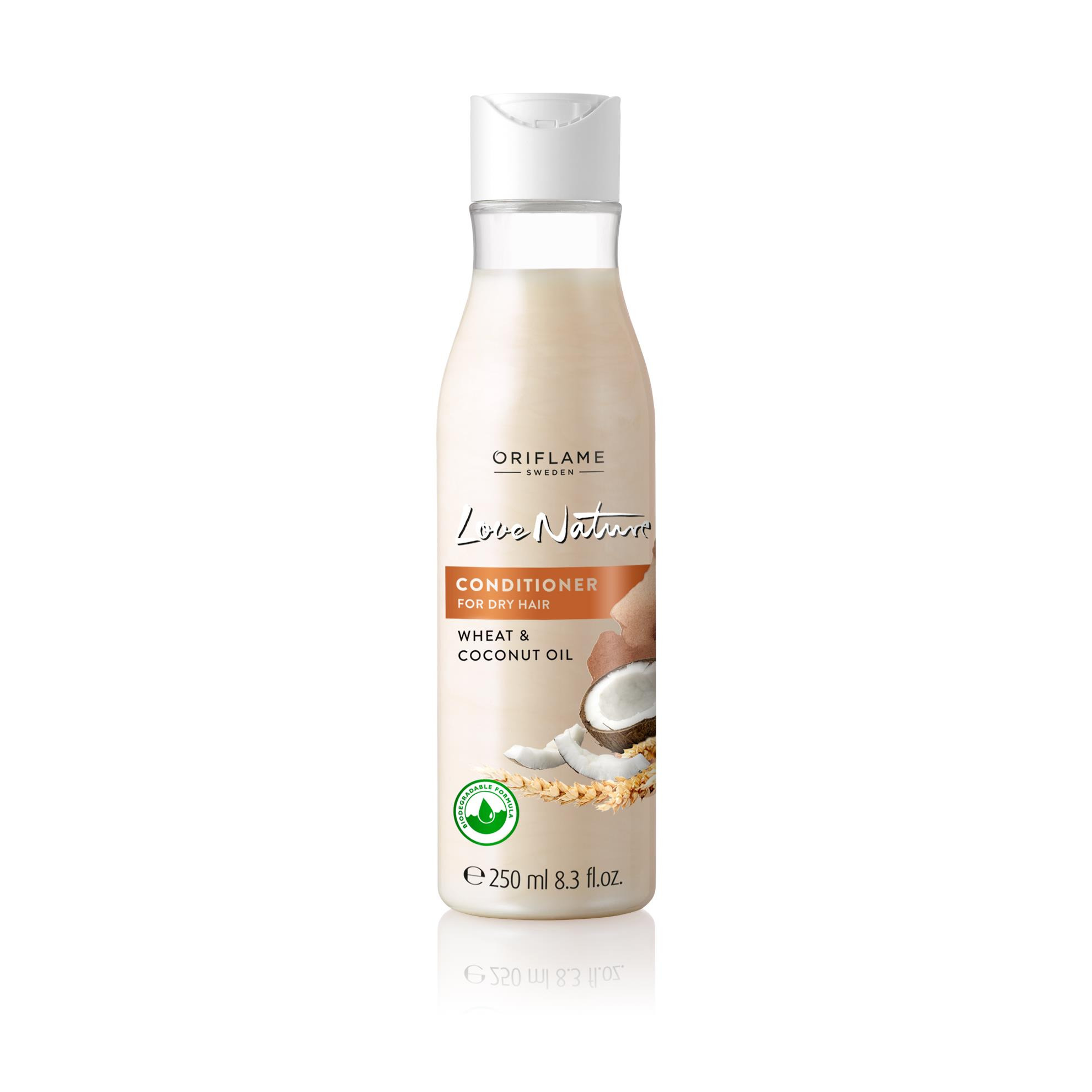 Oriflame Love Nature Conditioner for Dry Hair Wheat & Coconut Oil