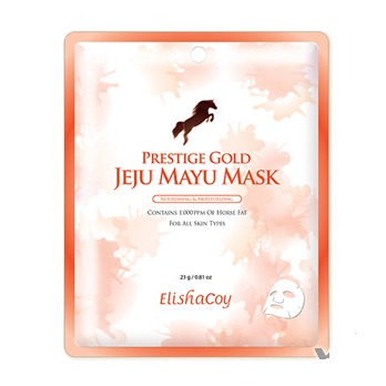 Elishacoy Prestige Gold Jeju Mayu Mask