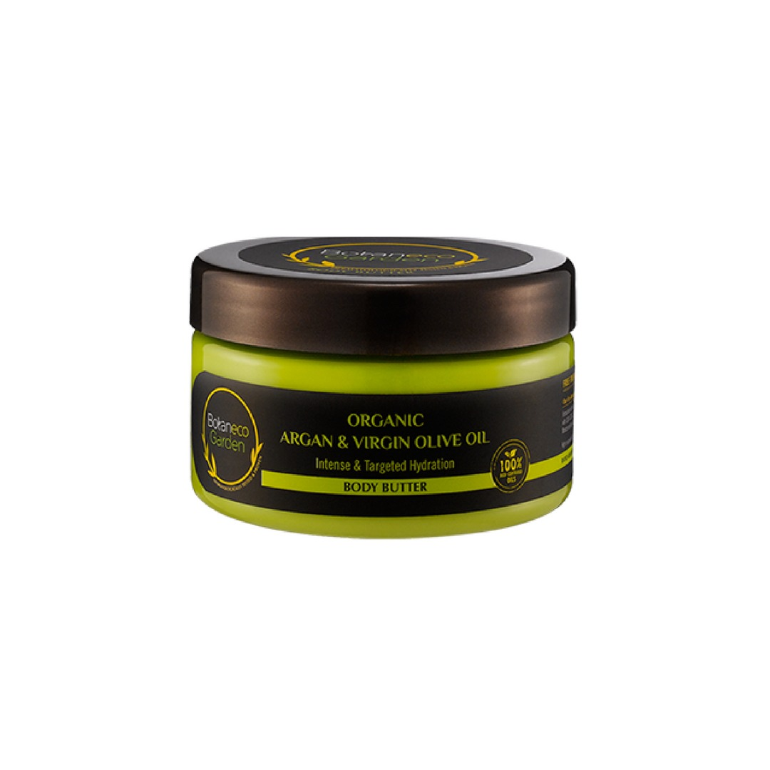Botaneco Garden Organic Argan and Virgin Olive Oil Body Butter