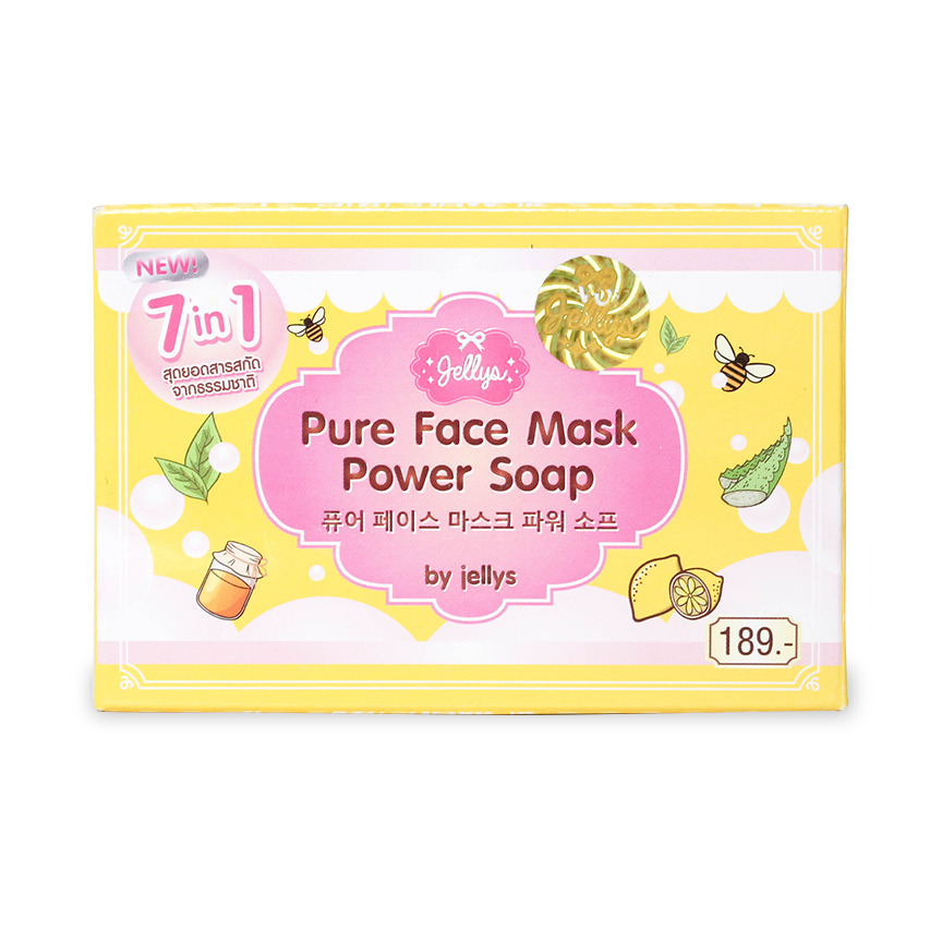 Jellys Jellys Pure Face Mask Power Soap