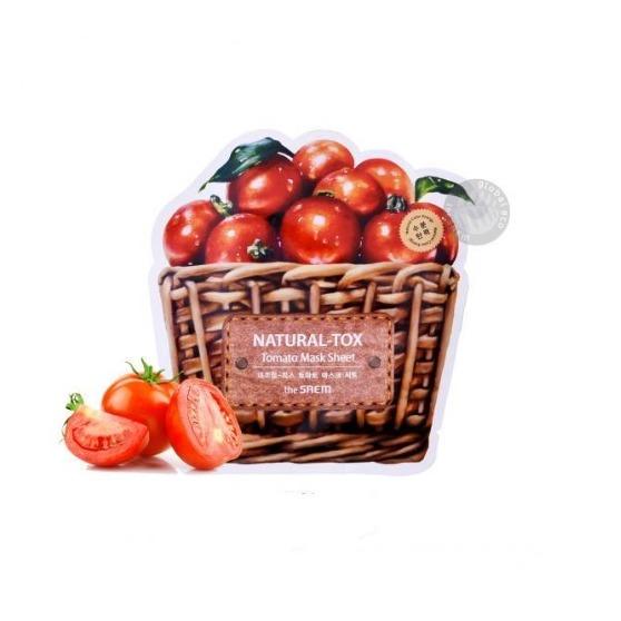 the saem Natural Tox Tomato Mask Sheet