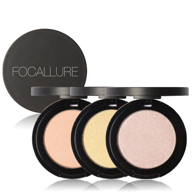 FOCALLURE Highlighter Powder With Case