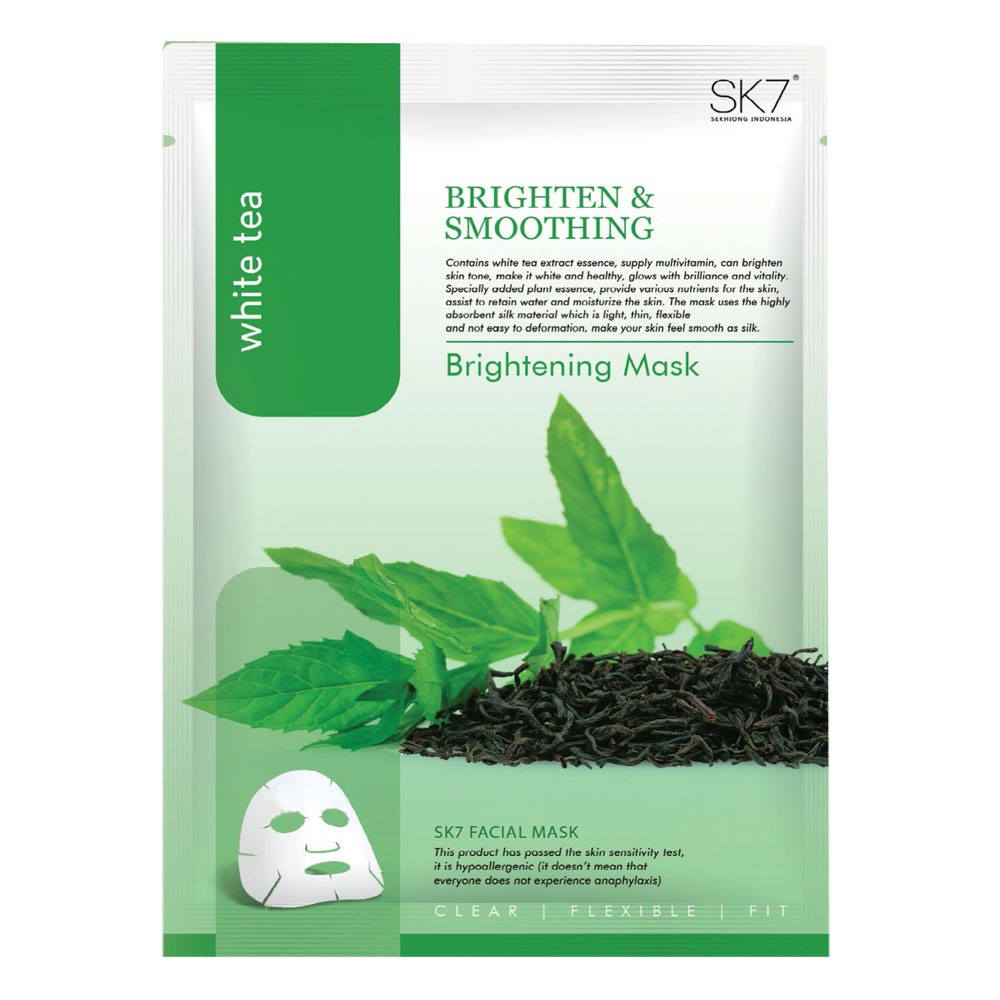 SK7 White Tea Brightening Mask
