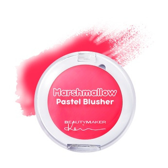 Beautymaker Marshmallow Pastel Blusher Cherry