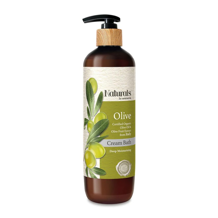 Naturals by Watsons OLIVE CREAM BATH