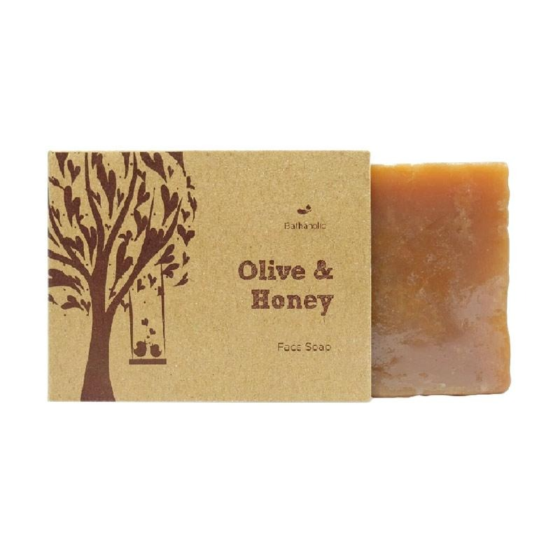 Bathaholic Olive & Honey Face Soap