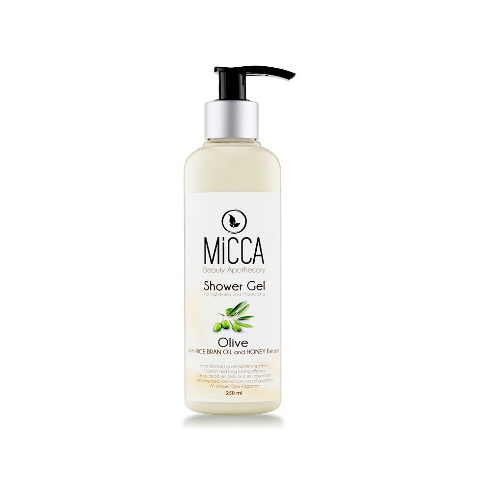 Micca Beauty SHOWER GEL OLIVE