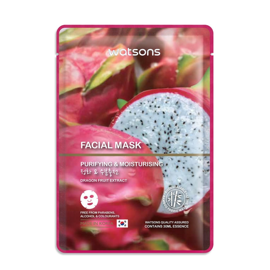 Watson Fruity Face Mask Dragon Fruit