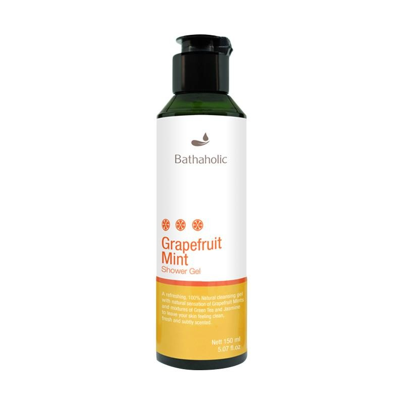 Bathaholic Grapefruit Mint Shower Gel