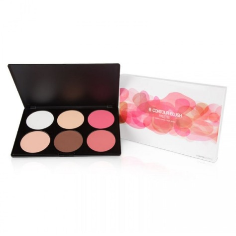 Coastal Scents 6 Contour Blush Palette