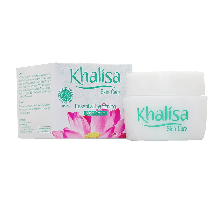Khalisa Lip Care Essential Lightening Night Cream