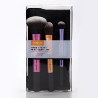 Miniso Brushes Set With Cosmetic Bag