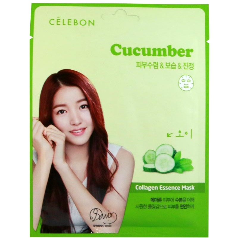 Celebon Collagen Essence Mask Cucumber
