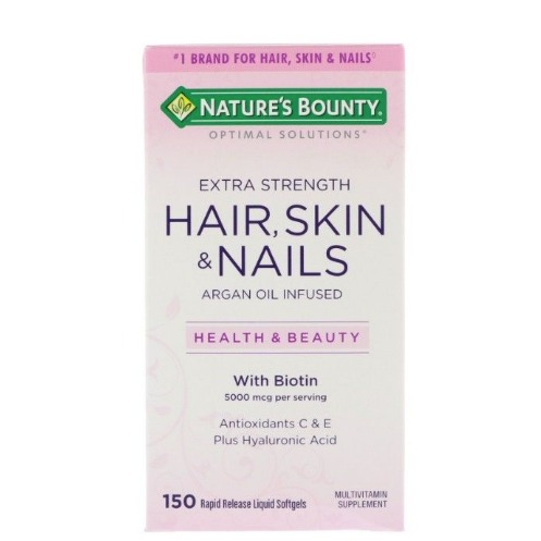 Nature's Bounty Nature's Bounty Hair, Skin & Nails