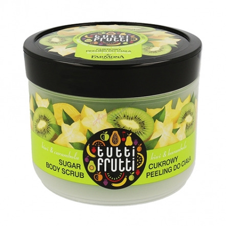 Tutti Frutti Kiwi & Carambola Sugar Body Scrub