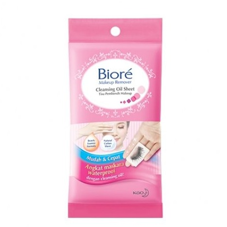 Biore Makeup Remover Cleansing Oil Sheet