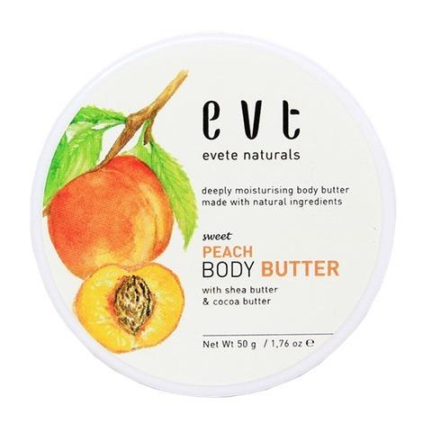 Evete Naturals Sweet Peach Body Butter