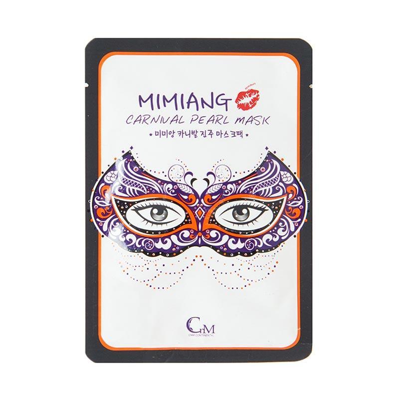 Mimiang Mardi Gras Pearl Mask