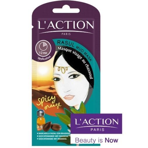 L'Action Paris Rasul Face Mud Mask With Spicy Orange
