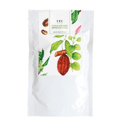 Evete Naturals Chocolate Mint Coffee Body Scrub