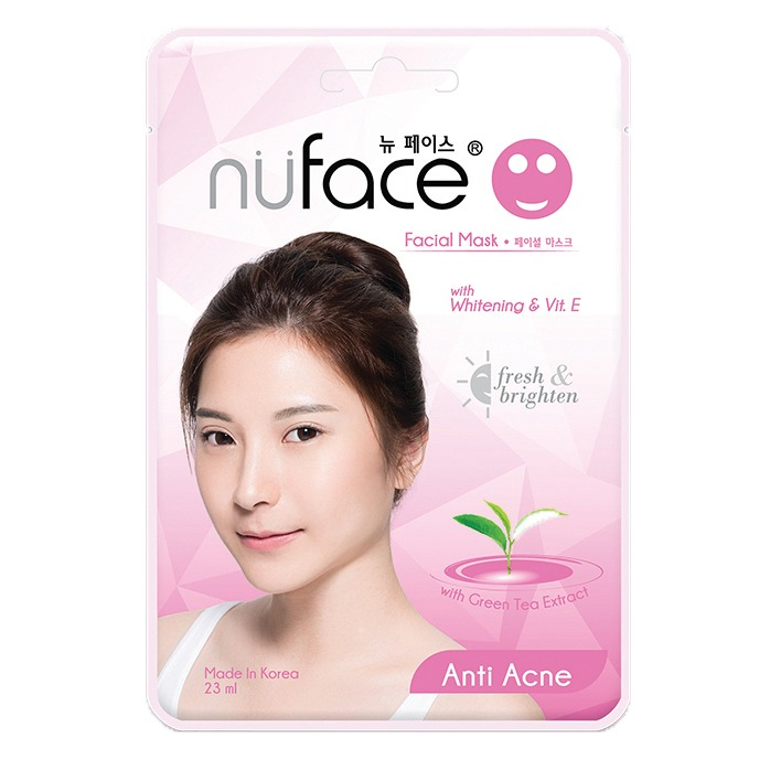 Nuface Whitening Facial Mask Anti Acne