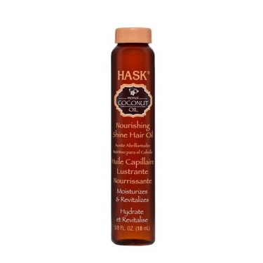 HASK Coconut Oil Nourishing Shine Oil Vial