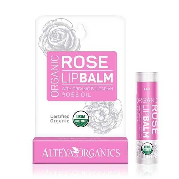 ALTEYA ORGANICS Rose Lip Balm