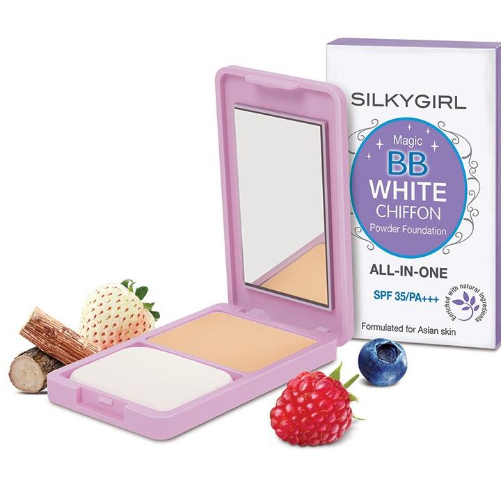 SILKYGIRL Magic BB White Chiffon Powder Foundation