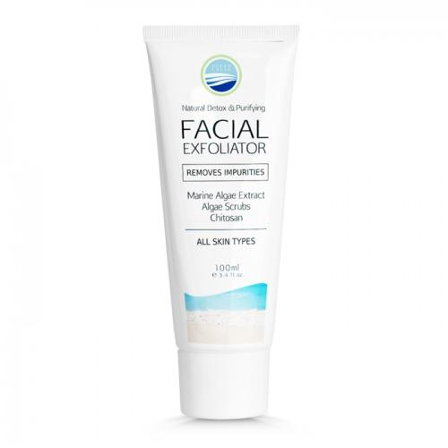 Ocean Fresh Facial Exfoliator Removes Impurities Tube