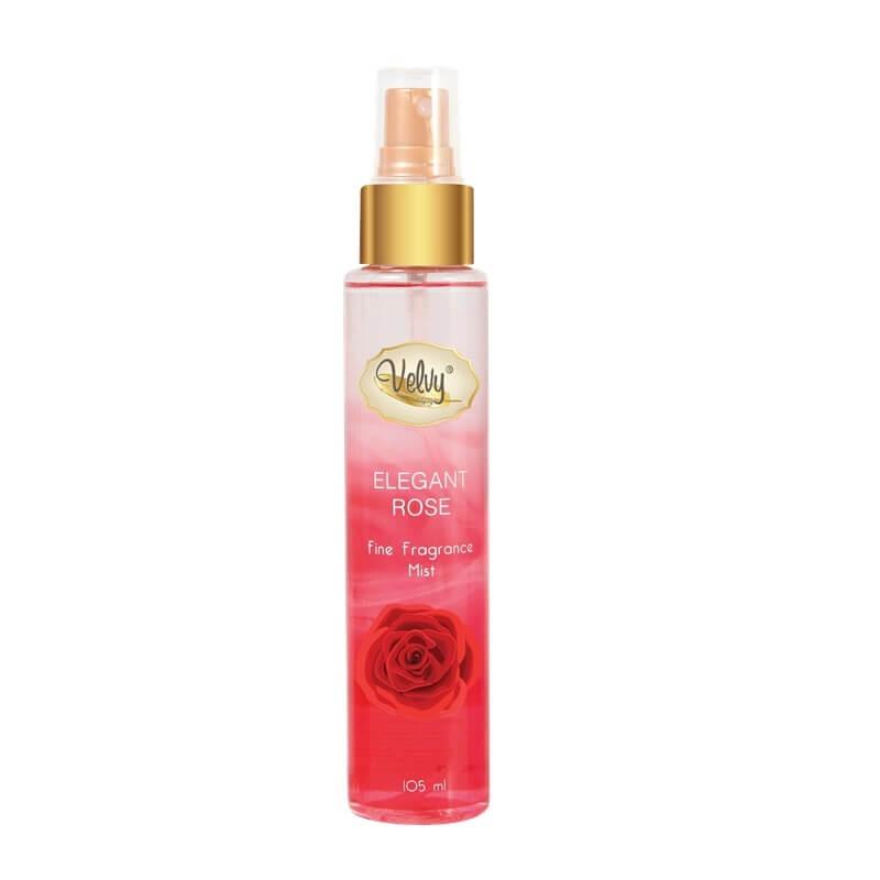 Velvy Fine Fragrance Mist ELEGANT ROSE