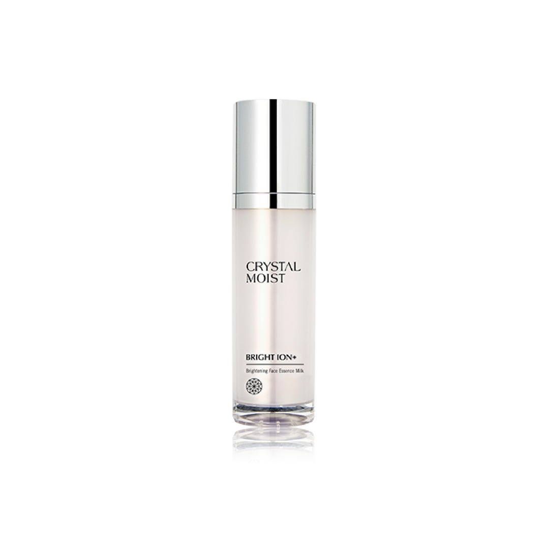Crystal Moist BRIGHT ION+ Brightening Face Essence Milk