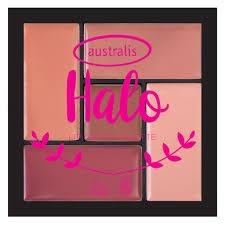 australis Halo Lip Palette Aura