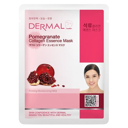 Dermal COLLAGEN ESSENCE MASK - POMEGRANATE