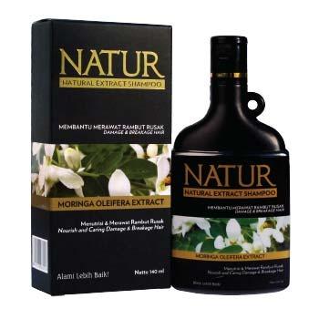 Natur Moringa Oleifera Extract Shampoo